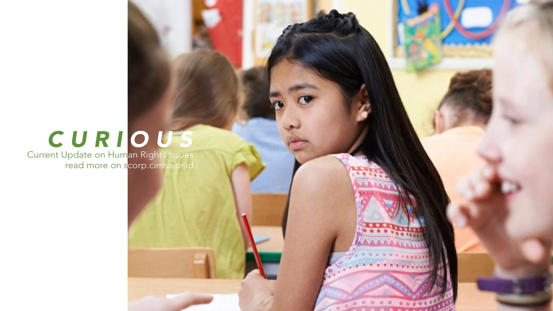 CURIOUS – Stand Up Against Bullying